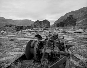 Rhosydd Quarry ruins, North Wales