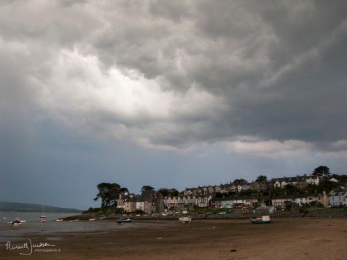 Storm over Borth Y Gest, North Wales