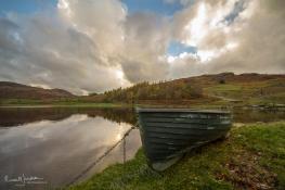 Boat at Watendlath, Cumbria