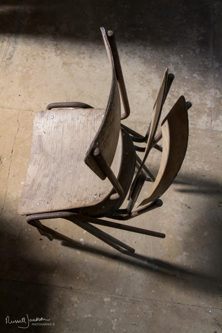 Chairs in Wolfhamcote Church