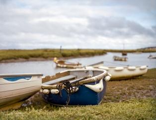 Morston Quay, Norfolk. Medium Format film